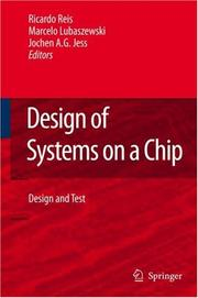 Cover of: Design of systems on a chip by