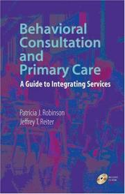 Behavioral Consultation and Primary Care