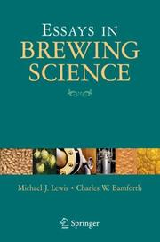 Cover of: Essays in Brewing Science | Michael J. Lewis