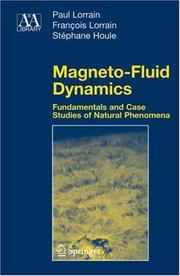 Cover of: Magneto-fluid dynamics |