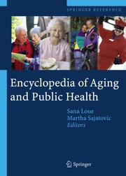 Cover of: Encyclopedia of Aging and Public Health |