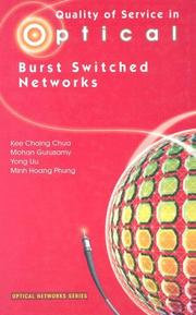 Quality of service in optical burst switched networks by