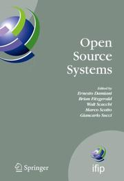 Cover of: Open Source Systems |