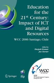 Cover of: Education for the 21st Century - Impact of ICT and Digital Resources |