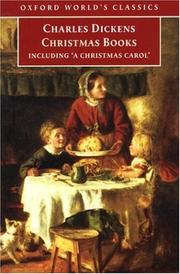 Cover of: Christmas Books (Oxford World