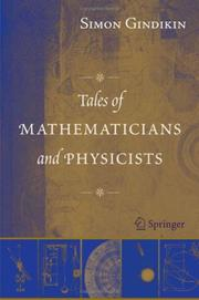 Cover of: Tales of Mathematicians and Physicists | Simon Gindikin