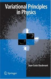 Cover of: Variational Principles in Physics