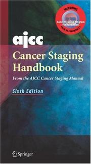 Cover of: AJCC Cancer Staging Handbook Plus EZTNM | David L. Page