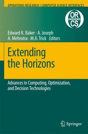 Cover of: Extending the horizons |