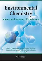 Cover of: Environmental Chemistry by