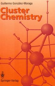 Cover of: Cluster chemistry | Guillermo GonzaМЃlez-Moraga