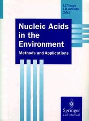 Cover of: Nucleic acids in the environment |