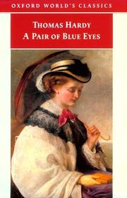 Cover of: A Pair of Blue Eyes (Oxford World