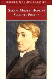 Cover of: Selected Poetry (Oxford World's Classics) by Gerard Manley Hopkins
