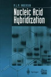 Cover of: Nucleic acid hybridization | M. L. M. Anderson