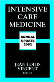 Cover of: Intensive Care Medicine