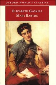 Cover of: Mary Barton | Elizabeth Cleghorn Gaskell