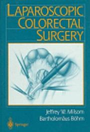Cover of: Laparoscopic colorectal surgery