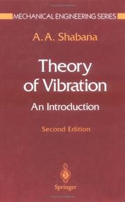 Cover of: Theory of vibration