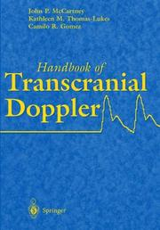 Cover of: Handbook of transcranial doppler