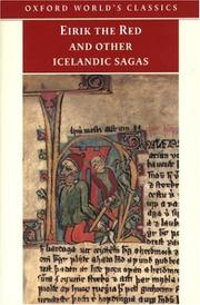 Cover of: Eirik the Red and other Icelandic sagas |