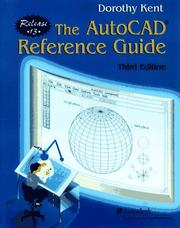 Cover of: AutoCAD reference guide