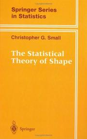 Cover of: The statistical theory of shape