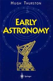Early Astronomy