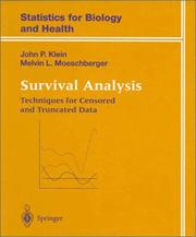 Survival analysis by John P. Klein