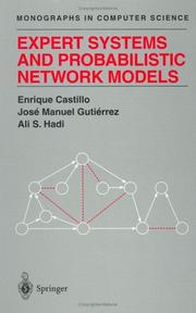 Cover of: Expert systems and probabilistic network models