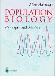 Cover of: Population biology