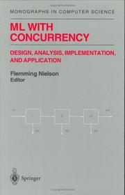Cover of: ML With Concurrency