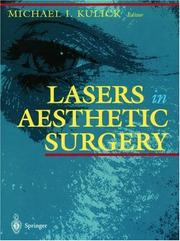 Cover of: Lasers in aesthetic surgery