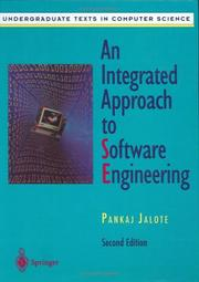 Cover of: An integrated approach to software engineering