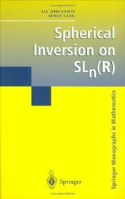Cover of: Spherical Inversion on SLn(r)