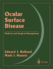 Cover of: Ocular surface disease
