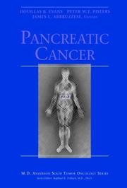 Cover of: Pancreatic Cancer (M.D. Anderson Solid Tumor Oncology Series) |