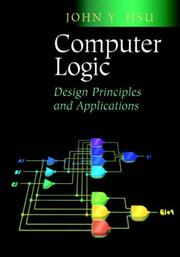 Cover of: Computer Logic Design