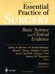 Cover of: Essential Practice of Surgery |