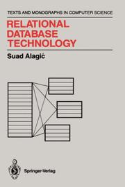 Cover of: Relational database technology