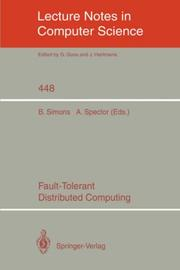 Cover of: Fault-tolerant distributed computing |