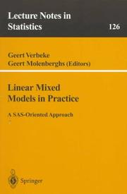 Linear mixed models in practice