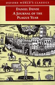 Cover of: A journal of the plague year | Daniel Defoe