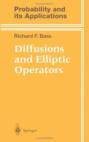 Cover of: Diffusions and elliptic operators