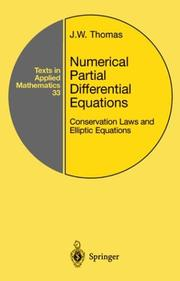 Cover of: Numerical Partial Differential Equations | J.W. Thomas
