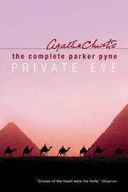 Cover of: Complete Parker Pyne, Private Eye