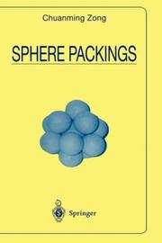 Cover of: Sphere Packings (Universitext)