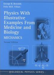 Cover of: Physics, with illustrative examples from medicine and biology