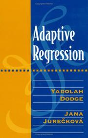 Cover of: Adaptive Regression | Yadolah Dodge