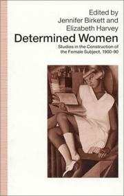 Cover of: Determined women |